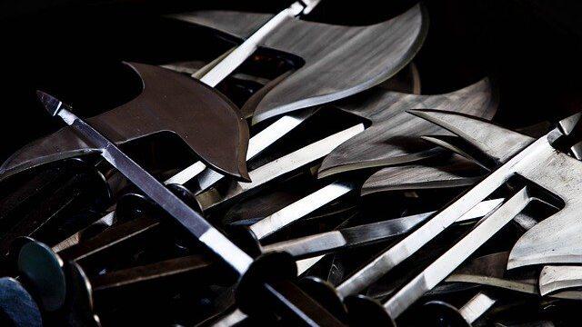 『母とのシエスタ』その4「レジデンツ城の武器博物館」