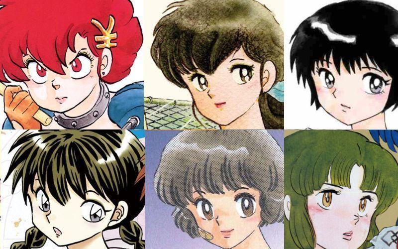 高橋留美子、かわいい女の子キャラクターランキング・ベスト13